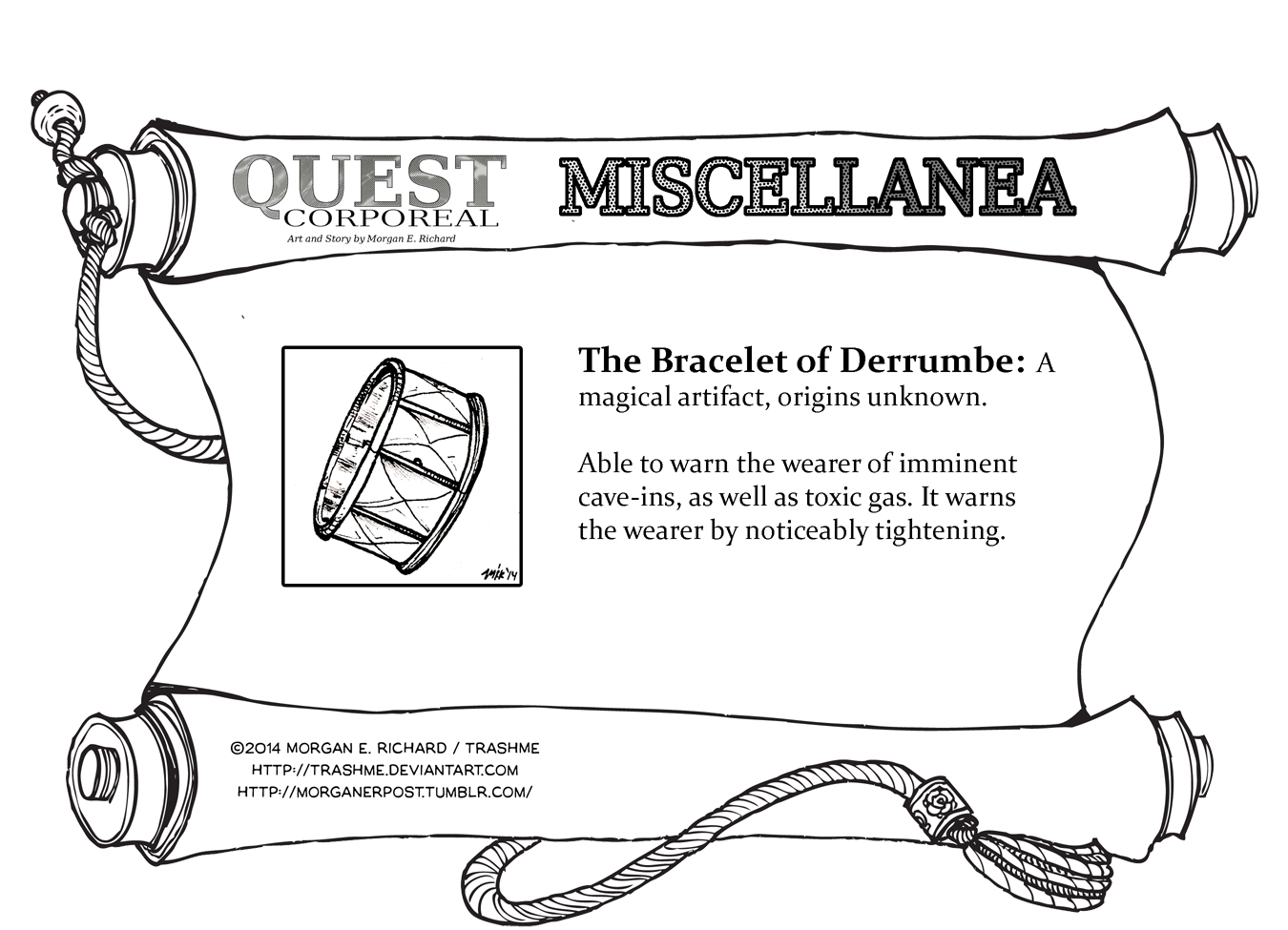 Miscellanea Corporeal: The Bracelet of Derrumbe